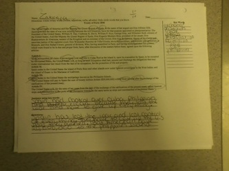 Artifact 12 Treaty Of Paris 1898 Worksheet How To